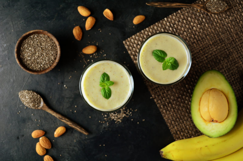 Avocado and Almond Butter Smoothie